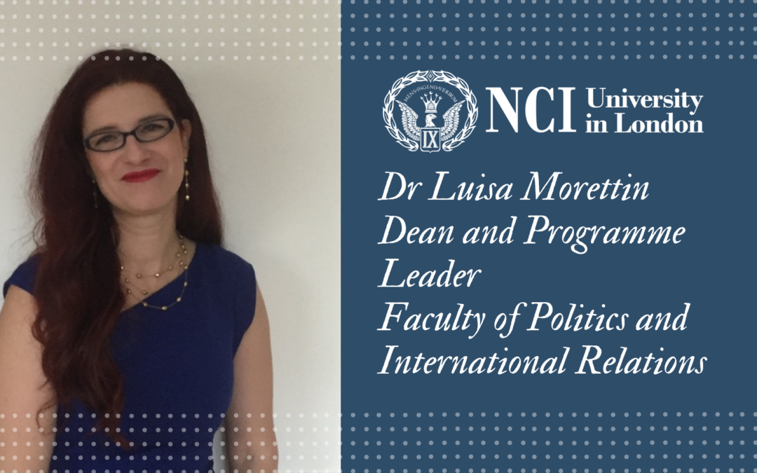 Give Your Career a Step Up! Read this from Dr Luisa Morettin, Faculty of Politics and International Relations